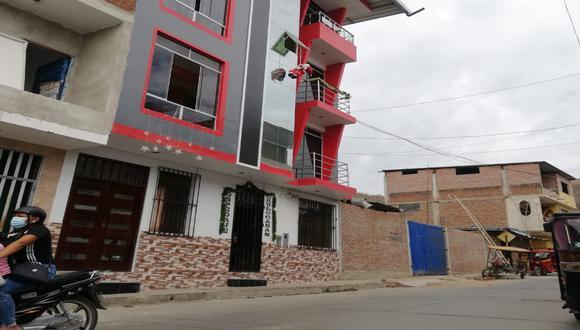 En un hostal del distrito de Chulucanas de la provincia de Morropón se registró un feminicidio que sería el primero del 2021. (Foto Difusión)