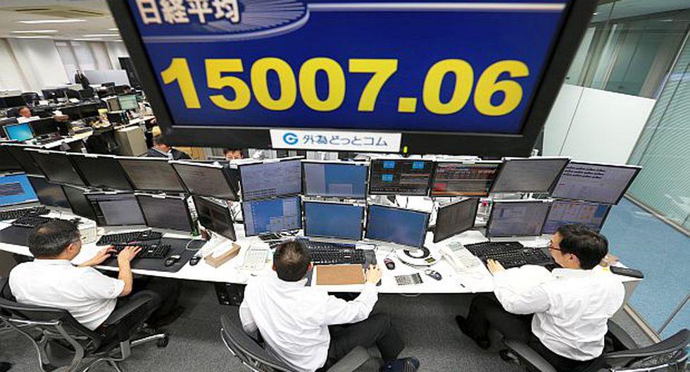 La bolsa de Tokio terminó la semana con malos resultados