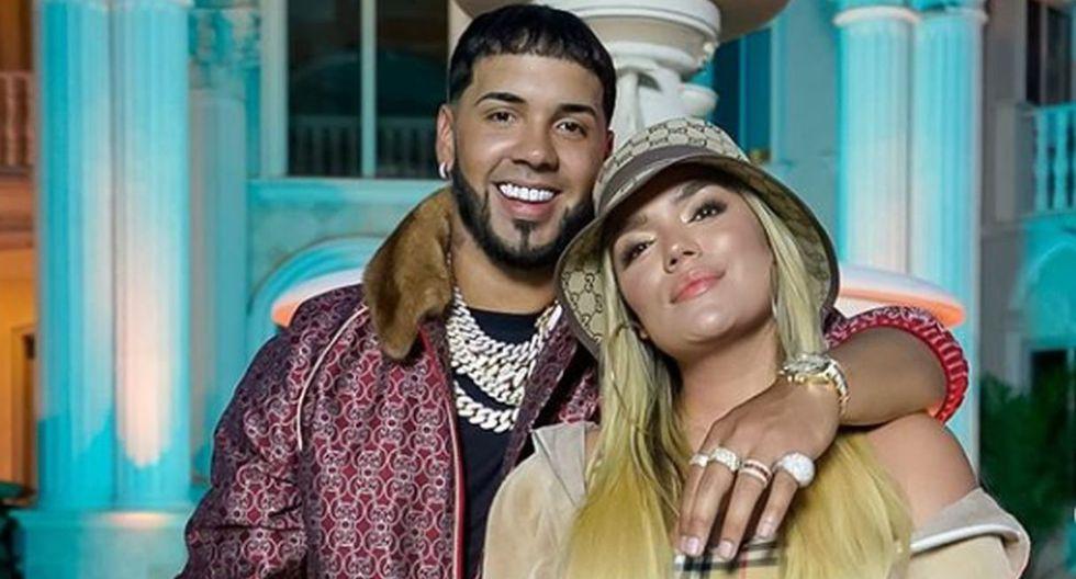 Karol G y Anuel AA ubican su tercera canción consecutiva en la lista Billboard's Hot Latin Songs. (@karolg)