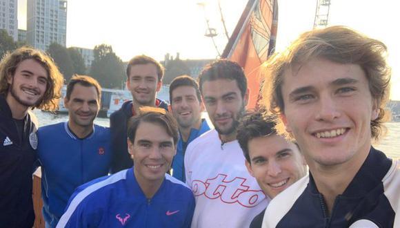 Este domingo empieza el Masters de Londres con la presencia de los ocho mejores tenistas de la temporada. Djokovic y Nadal definen el número 1 del ránking. (Foto: ATP)