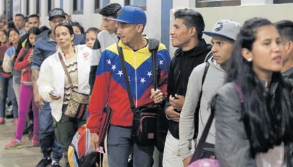 Venezolanos en Perú: número de migrantes llegaría a un millón al 2019