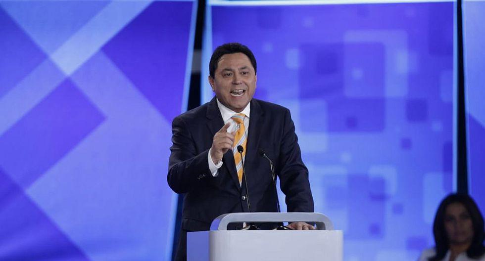 Enrique Ocrospoma es candidato a la alcaldía de Lima por Perú Nación. (Foto: Anthony Niño de Guzmán)