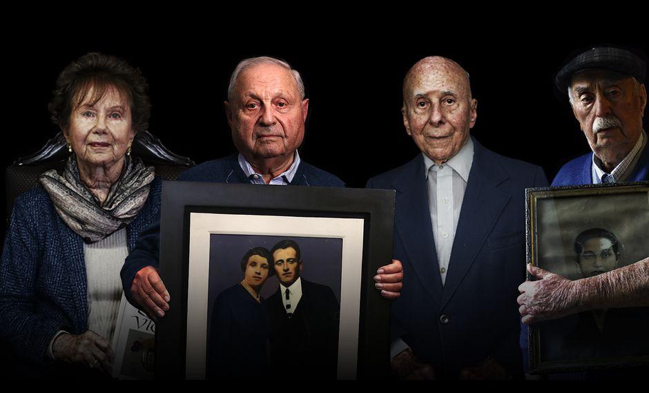 Conozca la historia completa de los cuatro judíos europeos que lograron escapar del terror nazi en el especial preparado por el equipo de El Comercio: Sobreviví al Holocausto. (Fotos: Rolly Reyna / Diseño: Armando Scargglioni)