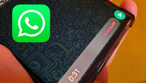Así puedes modificar tu voz en WhatsApp de forma sencilla. (Foto: MAG)