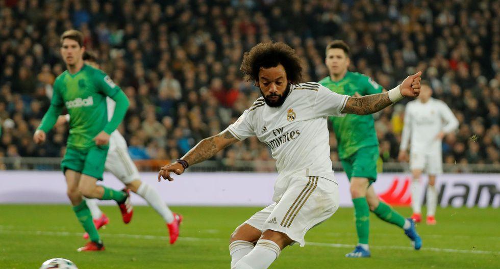 Marcelo ha perdido protagonismo en el equipo de Zinedine Zidane. REUTERS/Susana Vera