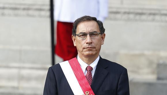 Según la Fiscalía de la Nación habría existido un aprovechamiento del cargo por parte de Martín Vizcarra cuando fue presidente de la República y se aplicó dosis adicional de la vacuna de contra el Covid-19 (Foto: Grupo El Comercio)
