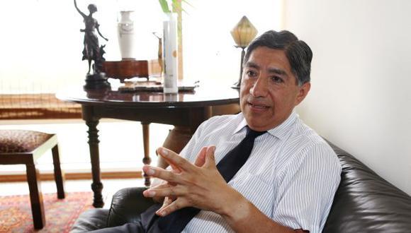 El exfiscal Avelino Guillén fue integrante del equipo técnico de Perú Libre. (Foto: Archivo GEC)