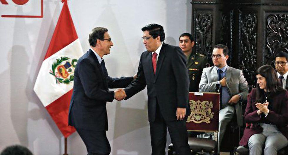 MIERCOLES 30 DE OCTUBRE DEL 2019El presidente Vizcarra y el primer ministro Zeballos presentó las políticas y objetivos del gobiernoFOTOS: RENZO SALAZAR