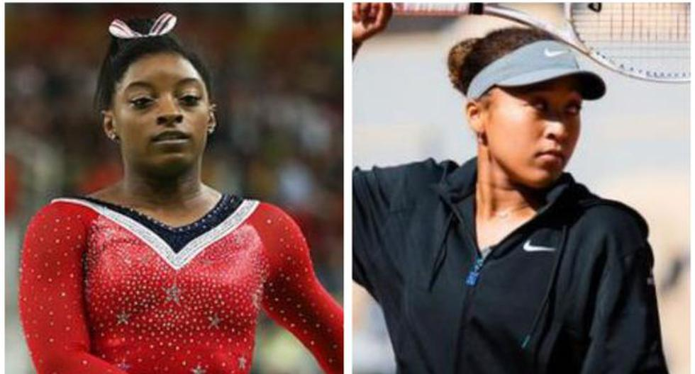 Sobre Simone Biles y Naomi Osaka pesa la gran presión de una expectativa general de más logros deportivos. (Foto: AFP)