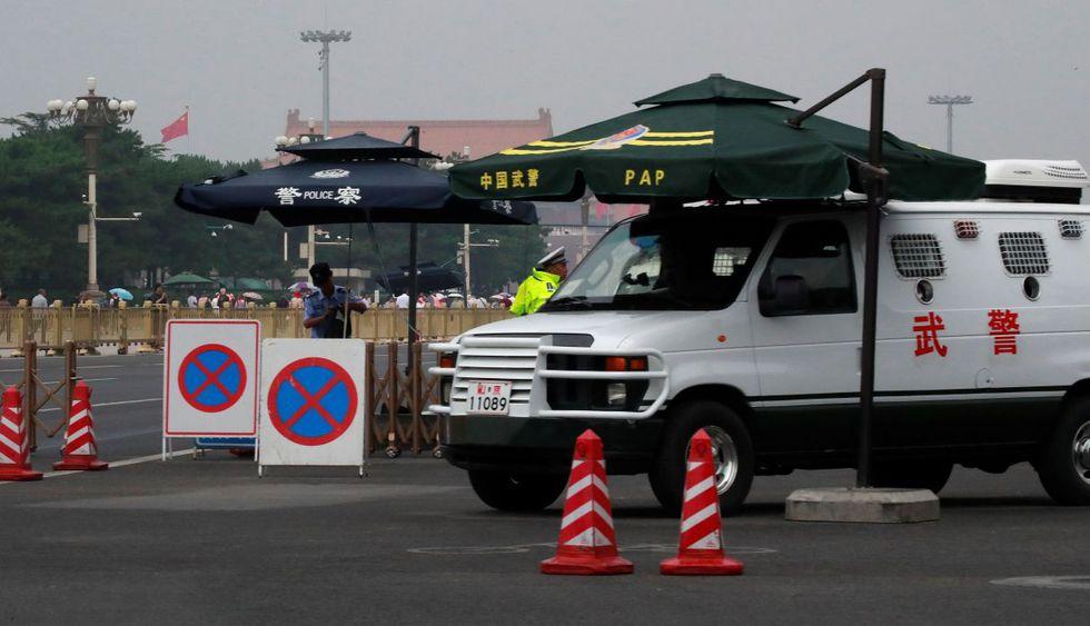 Silencio y seguridad en Beijing en el 30 aniversario de represión en Tiananmen. (Foto: EFE)