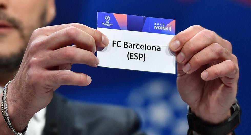 Hoy se realiza el sorteo de la Champions League por octavos de final. Además, conoce las horas y canales para ver los partidos de fútbol en vivo. (AFP)