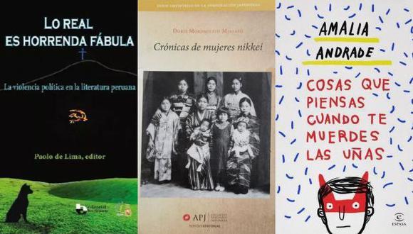 Tres libros recomendados para la semana.
