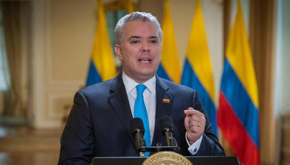 Iván Duque, presidente de Colombia. (Foto: Presidencia de Colombia).