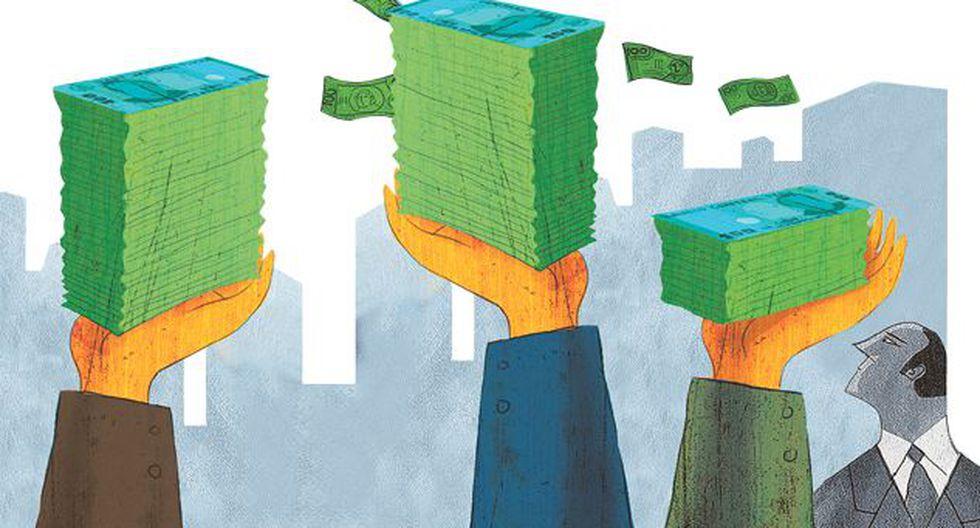 Todo aporte mayor a S/.4200 debe ser bancarizado. (Ilustración: El Comercio)
