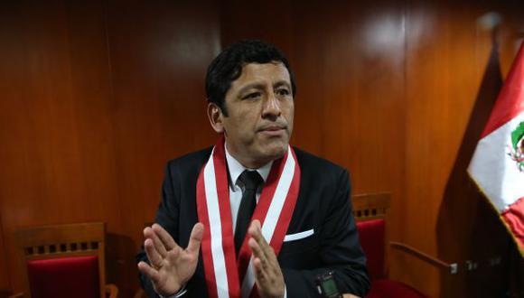 Guido Aguila fue reelecto en febrero de este año como presidente del CNM (Periodo 2017-2018). En el 2015 llegó a esa institución como representante de los colegio de abogados. (Foto: El Comercio/ Archivo)
