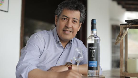 Tabernero tiene el 20% del mercado en piscos y el 35% en vinos, sostiene Rubén  Benavides, gerente general del grupo Tabernero. (Foto: Anthony Niño de Guzmán)