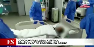 Coronavirus: confirman primer caso de contagio en África