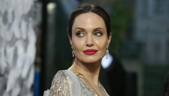 Angelina Jolie es captada visitando el departamento de expareja Lee Miller en Nueva York. (Foto:  AFP)
