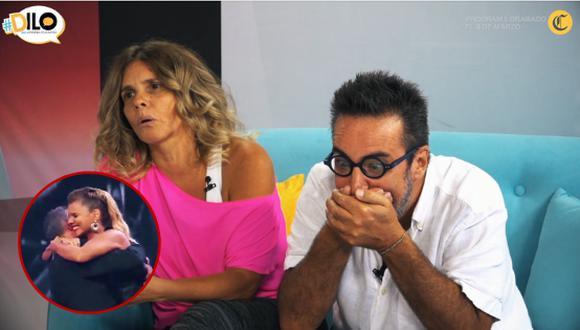 Carlos Carlín se muestra celoso por el reencuentro entre Johanna San Miguel y Mathías Brivio.