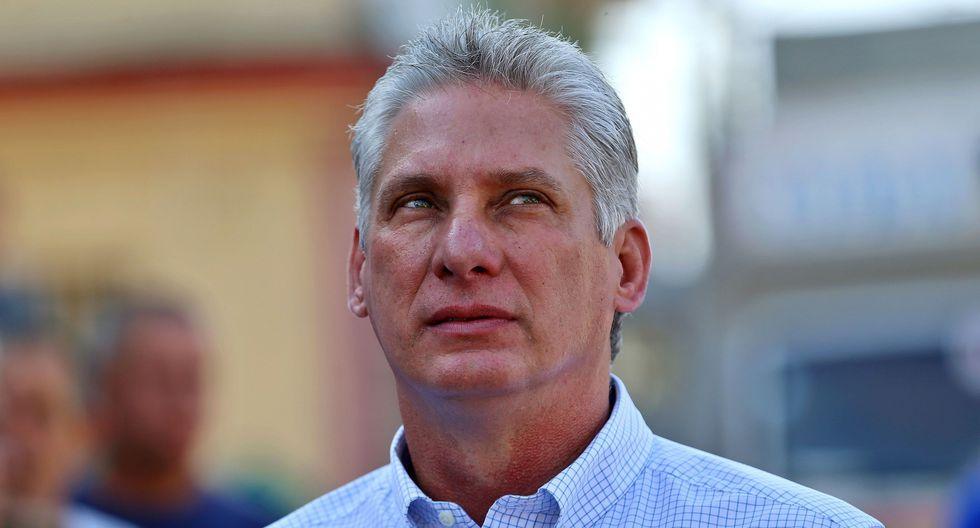 """Miguel Díaz-Canel acusa a EE.UU. de retomar """"robo de cerebros"""" con médicos cubanos. (AFP)."""