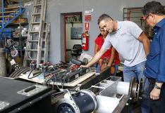 Bus eléctrico hecho en Perú podría recorrer pronto las calles de Lima   VIDEO