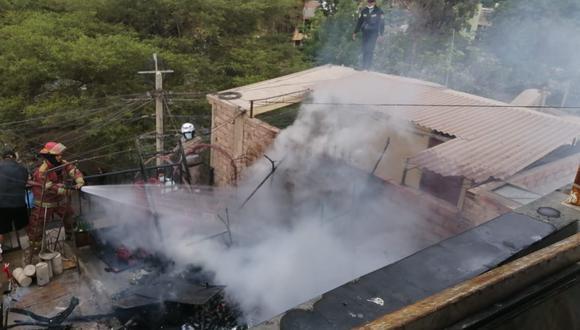 Ica: Incendio calcina a menor de tres años en su vivienda (Foto: Difusión)