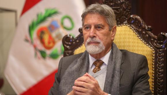 Francisco Sagasti dijo esperar que los representantes de los poderes del Estado trabajen de forma coordinada. (Foto: archivo Twitter @presidenciaperu)