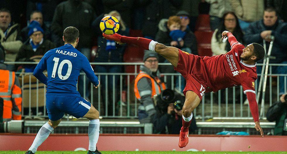 Joe Gómez (Liverpool) alcanzó 90.2 puntos (Foto: EFE/EPA/PETER POWELL)