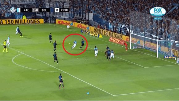 Racing vs. Belgrano EN VIVO: 'Licha' López marcó 1-0 al minuto por Superliga Argentina | VIDEO. (Video: YouTube/Foto: Captura de pantalla)