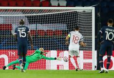 PSG vs. Manchester United: Bruno Fernandes canjeó penal por gol tras adelanto de Keylor Navas | VIDEO