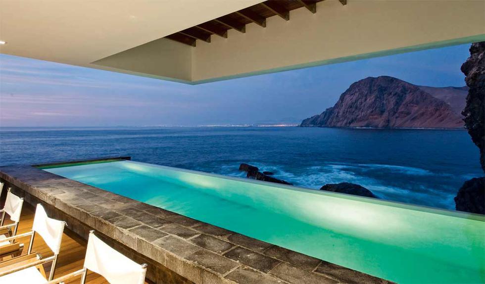 Piscinas que te gustaría tener en una casa de playa - 1