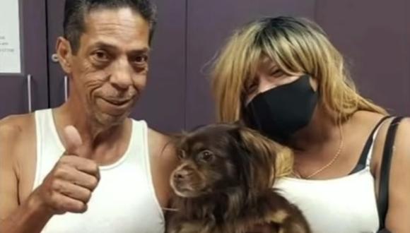 Perdieron a su perro hace dos años y lo recuperan tras verlo en un reportaje de televisión sobre adopciones. (Foto: Wisconsin Humane Society)