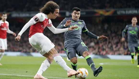 Arsenal vs. Sporting Lisboa: partidazo por la Europa League en el Emirates Stadium. (AP)