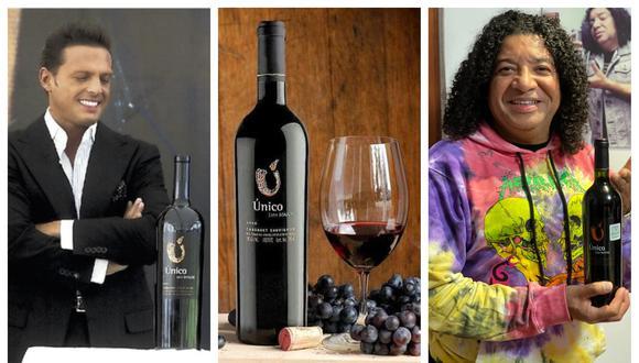 El vino de Luis Miguel se produjo hasta el 2018. El comediante y conductor de TV, Carlos Vílchez, debe ser una de las pocas personas que posee una botella del tinto en el Perú. (Fotos: Archivo / Melva Bravo)