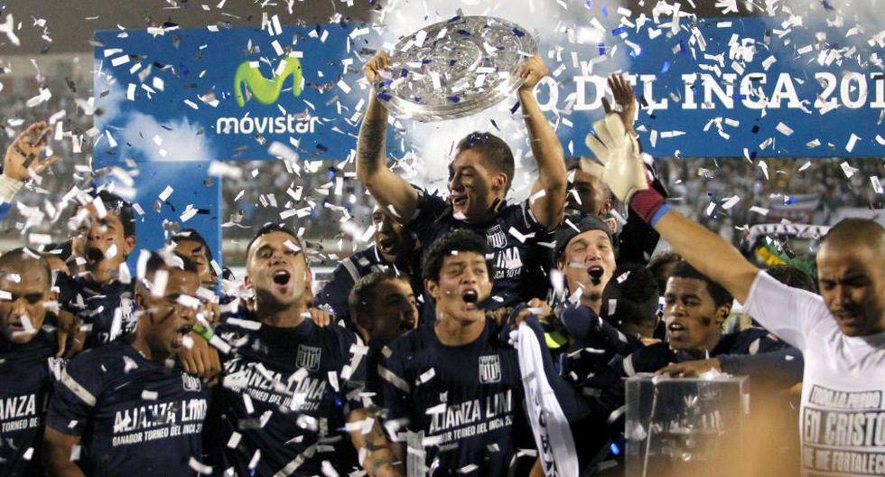 Alianza Lima y el festejo del título del Torneo del Inca 2014 - 4