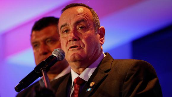 Alejandro Giammattei, presidente electo de Guatemala, señaló que evitará la confrontación con Donald Trump sobre el tema migratorio. (EFE).
