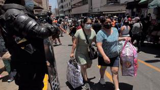 Advierten aglomeraciones en Mesa Redonda y Gamarra tras reinicio de actividades