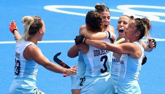 Argentina sueña con la medalla de oro en hockey femenino de Tokio 2020. (Foto: Reuters)