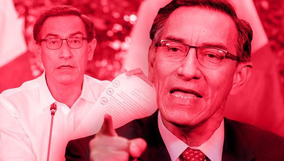 El presidente Martín Vizcarra firmó ayer la promulgación de tres autógrafas de ley, aprobadas por el Parlamento en el marco de la reforma política.  Tras tres semanas, aceptó responder preguntas de la prensa en una conferencia. (Fotos: Prensa Palacio)