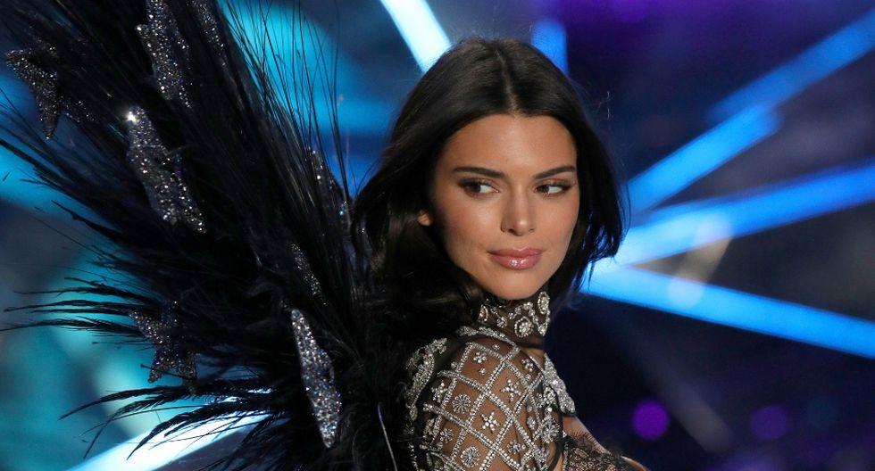 Kendall Jenner, quien cumplió 23 años hace poco, fue una de las estrellas del Victoria's Secret Fashion Show (VSFS) 2018. (AFP)