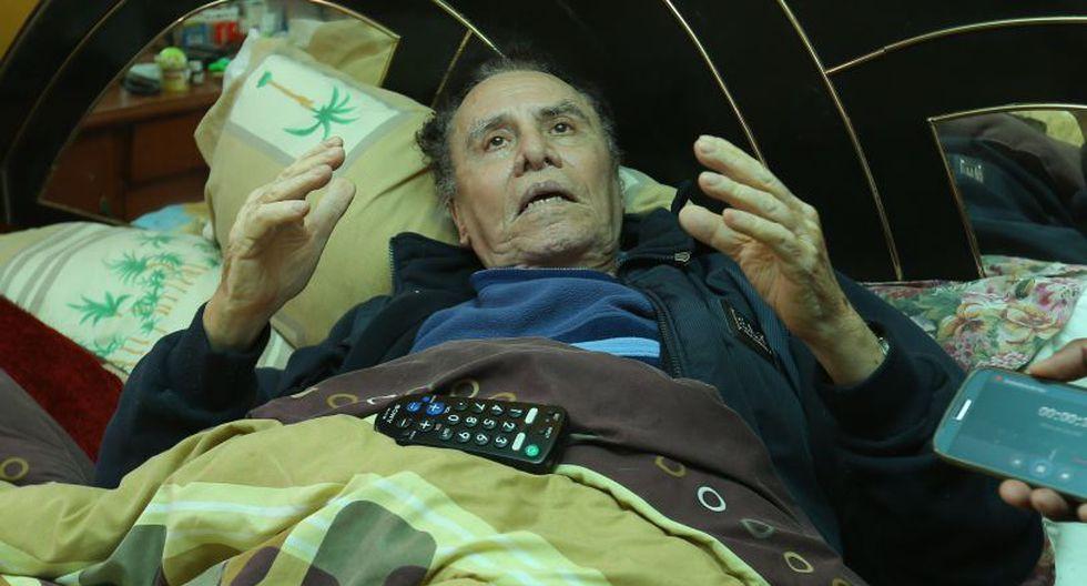 Personas allegadas Augusto Polo Campos contaron que él viene sufriendo las secuelas de diversas enfermedades y que ya no reconoce a algunas personas.  (Trome)