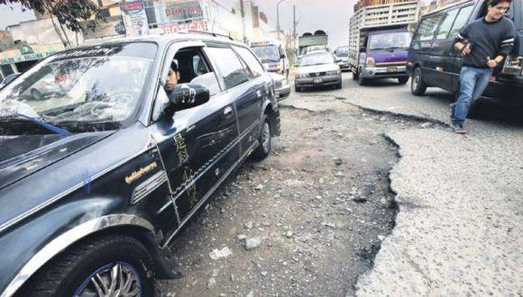 La reparación de las pistas no es una prioridad municipal