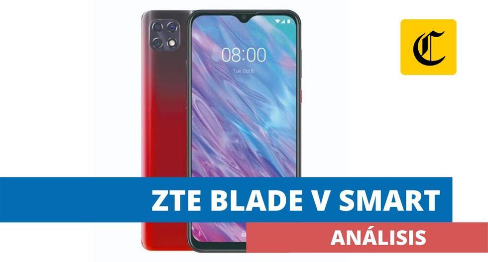 El Blade V Smart de ZTE es un interesante smartphone de gama media disponible en el mercado peruano.  (El Comercio)