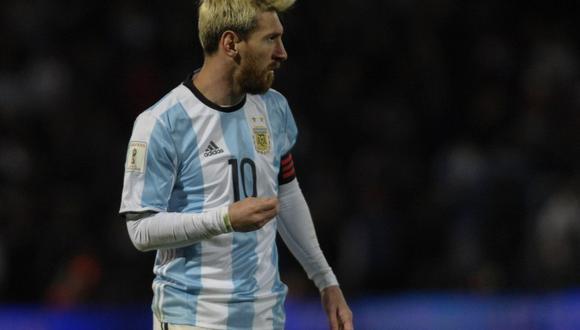 El presidente de la FIFA habló de la importancia de Lionel Messi en el mundo del balompié. El titular del máximo organismo del fútbol se mostró preocupado por el presente de 'La Pulga'. (Foto: AFP)