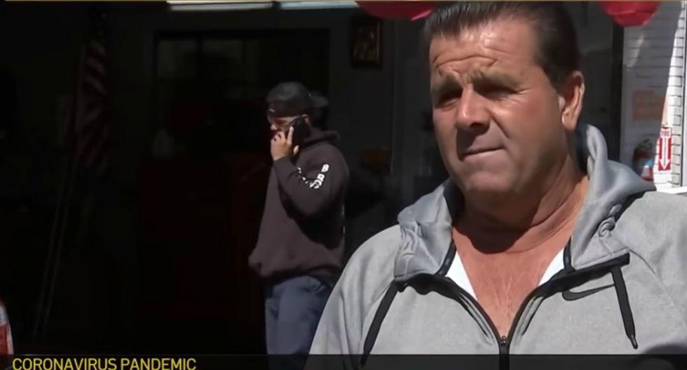 Mario Salerno, dueño de un edificio de apartamentos en Nueva York, le perdonó la renta de 200 inquilinos debido a la pandemia del coronavirus. (YouTube | NBC New York)
