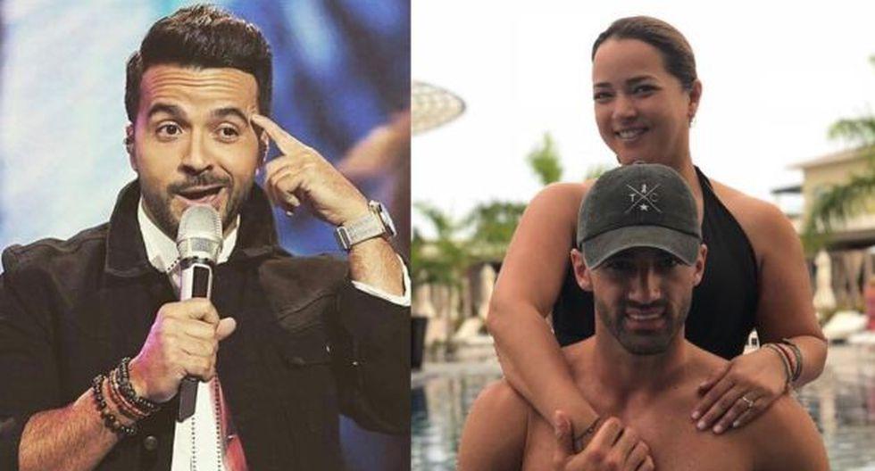 Luis Fonsi demuestra que no tiene problemas con Tony Costa, pareja actual de su ex esposa Adamari López. (Foto: @adamarilopez/AFP)