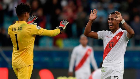 Renato Tapia está jugando su segunda Copa América con la bicolor. (Foto: EFE)
