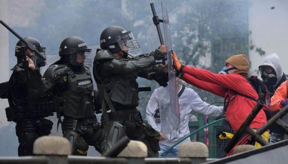 Las protestas no cesan en Colombia. (Foto: Getty Images)