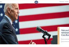 Toma de posesión de Biden: La web de Casa Blanca recupera el español tras 4 años de ausencia por Trump