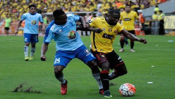 Barcelona SC igualó 1-1 frente a Macará y mantuvo el liderato de la Serie A de Ecuador   Foto: Twitter Radio Caracol
